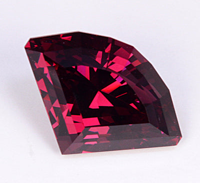 Rhodolite Garnet Has Great Color and Weighs 5.38 Carats