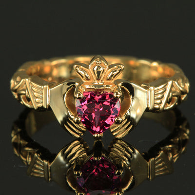 Claddagh Ring by Christopher Michael
