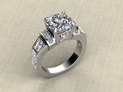 Engagement Ring Designed By Christopher Michael