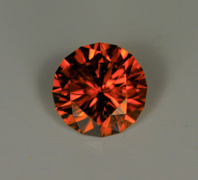 Zircon 2.27 Carat Round Brilliant Cut