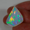 Intense Colors Freeform Shield Cut Cabochon Welo Opal 15.99 Carats