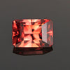 Barion Style Emerald Cut Imperial Zircon Gemstone