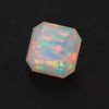 Vivid Color Square Faceted Welo Opal Gemstone 3.70 Carats