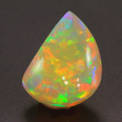 Sailboat Shape Welo Opal Gemstone 22.22 Carats