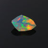 Faceted Shield Welo Opal Gemstone 2.37 Carats