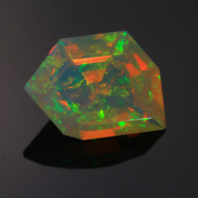 Welo Faceted Freeform Opal 27.72 Carats