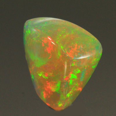 Rainbow Color Shield Welo Opal Gemstone 8.58 Carats