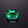 Green Emerald Cut Fluorite Gemstone 8.76 Carats Rogerly Mine