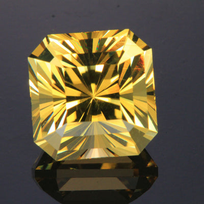 Golden Yellow Square Barion Scapolite 18.32 Carats