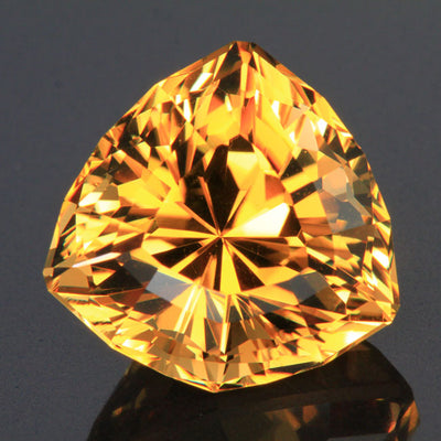 Golden Yellow Shield Scapolite 40.42 Carats