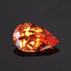 3.87ct Pear Shape Brilliant Cut Spessartite Garnet