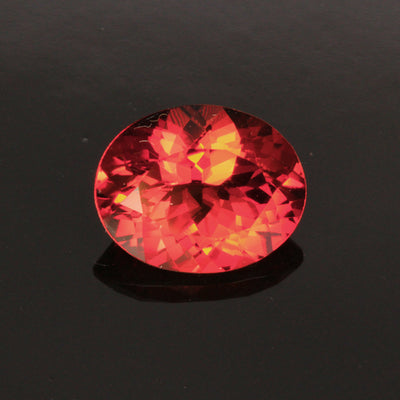 Red/Orange Oval Sunstone Gemstone 2.32 Carats
