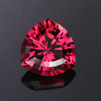 Violet Red Trilliant Cut Tourmaline Gemstone 6.03 Carats