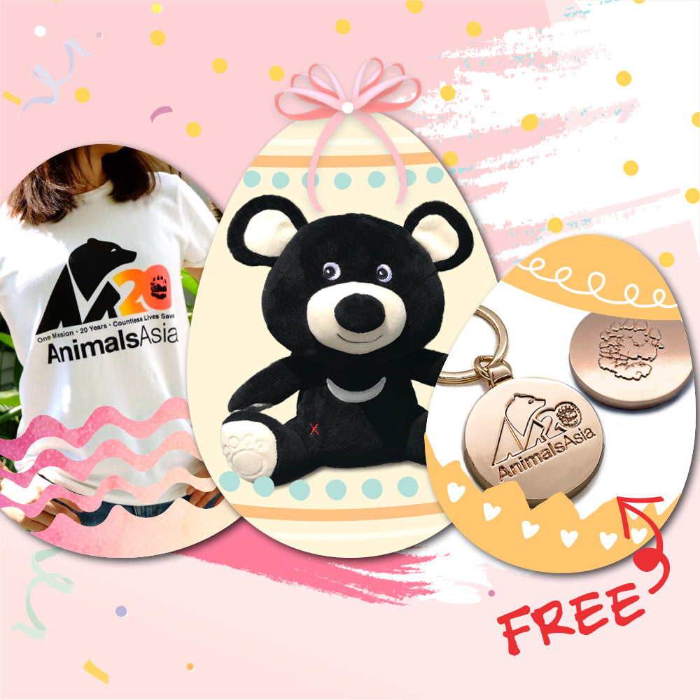 Easter bear gifts for her (set A)