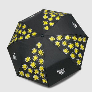Smiley foldable umbrella