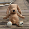 "Corduroy plush dog (14"")"