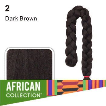 Wholesale Xpressions Braiding Hair - African Collection - Color 2 - Dark Brown