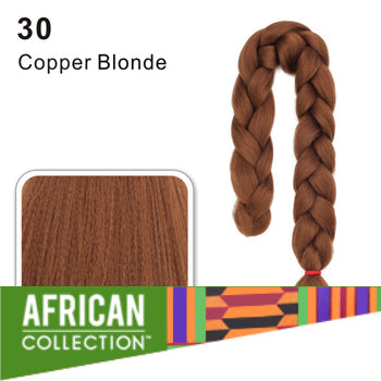 Wholesale Xpressions Braiding Hair - African Collection - Color 30 - Copper Blonde