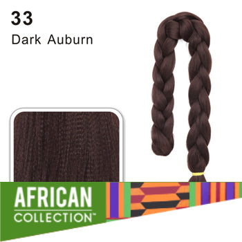 Wholesale Xpressions Braiding Hair - African Collection - Color 33 - Dark Auburn