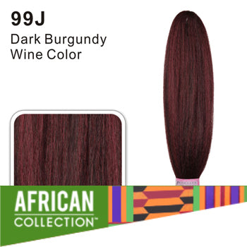 Wholesale Xpressions Braiding Hair - African Collection - Color 99J - Dark Burgundy Wine