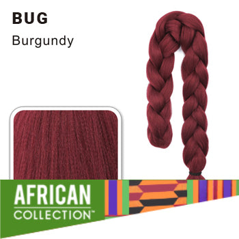 Wholesale Xpressions Braiding Hair - African Collection - Color Bug - Burgundy