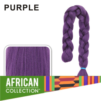 Wholesale Xpressions Braiding Hair - African Collection - Color Purple