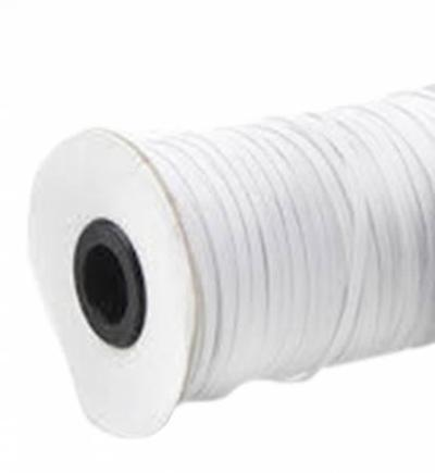 1/4 in Knitted White Elastic - 288 yard roll