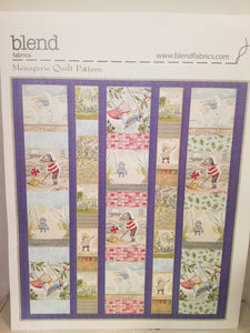 The Adventures Quilt Kit includes Backing.