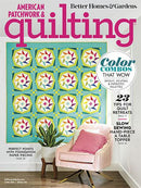 American Patchwork & Quilting Magazine -June 2020