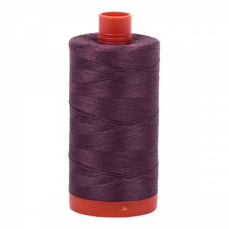 Aurifil Cotton Thread Solid 50wt 1422yds Mulberry 2568