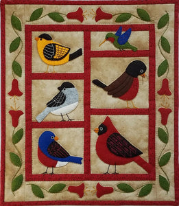 Backyard Birds Wall Quilt Kit
