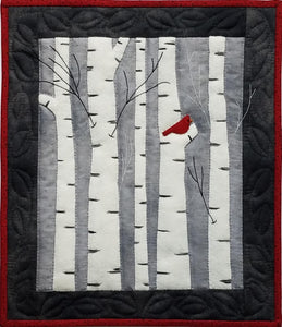 Birches Wall Quilt Kit
