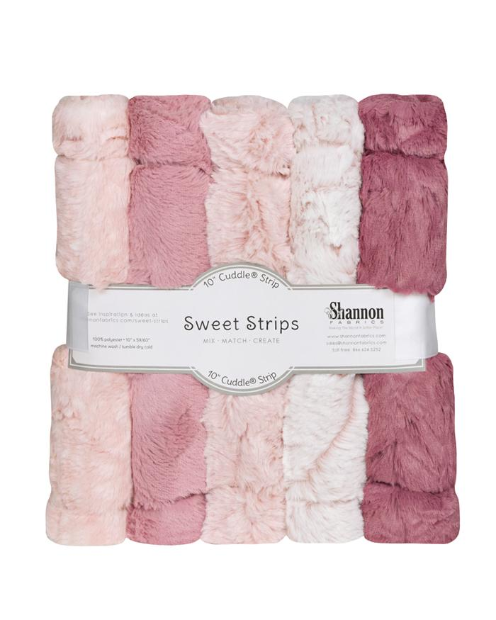 Cuddle Sweet Strips - Rose