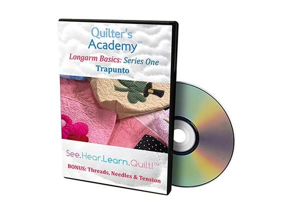 DVD Quilter's Academy Longarm Basics: HQ Trapunto
