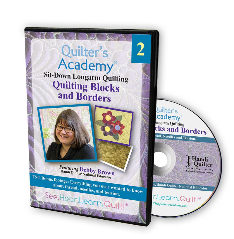DVD Quilter's Academy: Debby Brown