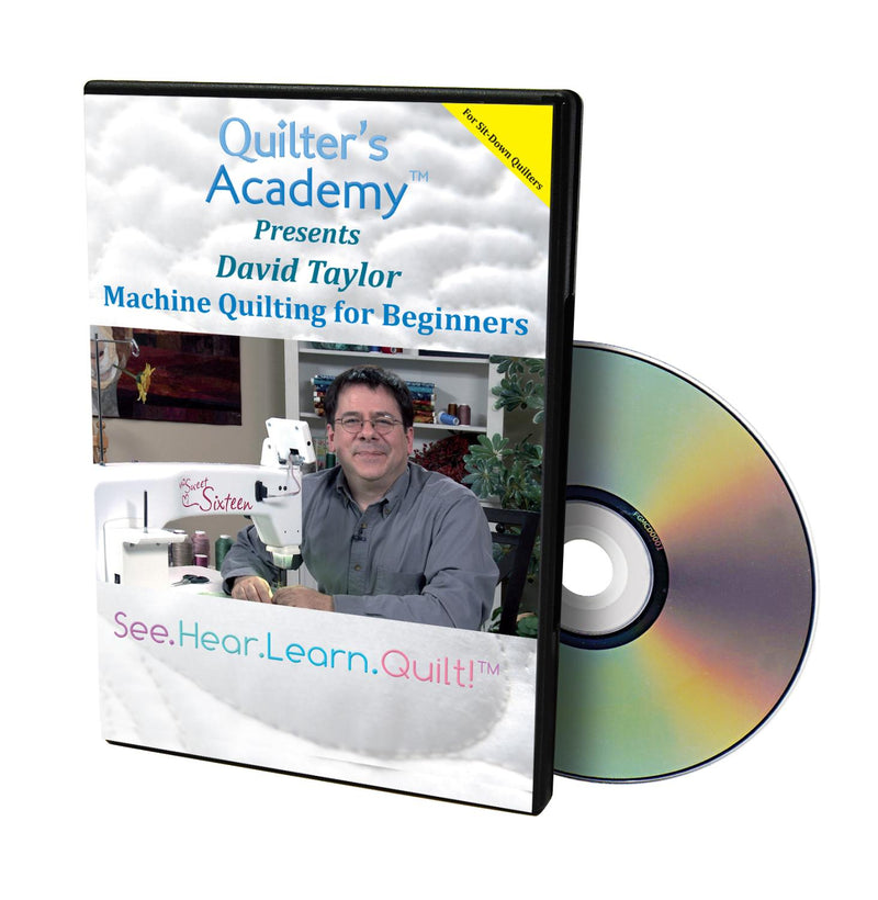 DVD Quilters Academy: Machine Quilting for Beginners