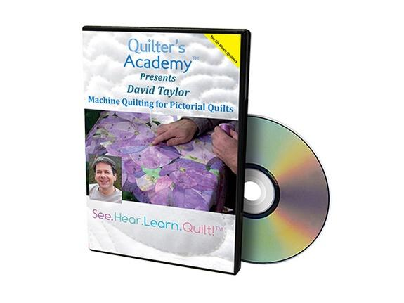 DVD Quilter's Academy; Machine Quilting for Pictorial Quilts