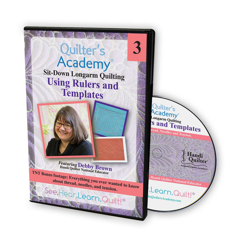 DVD Quilter's Academy: Using Rulers and Templates