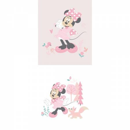 Disney Minnie Little Meadow Multi Panel-Pink