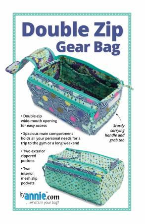 Double Zip Gear Bags Pattern