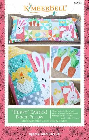 Kimberbell Hoppy Easter Bench Pillow Sewing Version