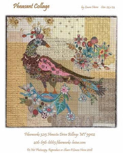Pheasant Collage pattern.