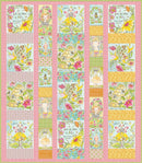 For The Love of Bees Menagerie Quilt Kit by Blend