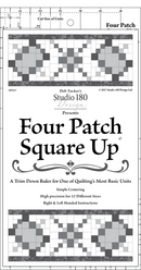 Four Patch Square Up - Deb Tucker