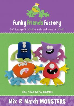 Funky Friends Factory - Mix & Match Monsters