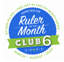 Handi Quilter Ruler of the Month - August 2020