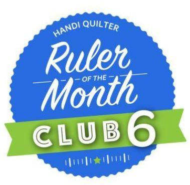 Handi Quilter Ruler of the Month - June 2020