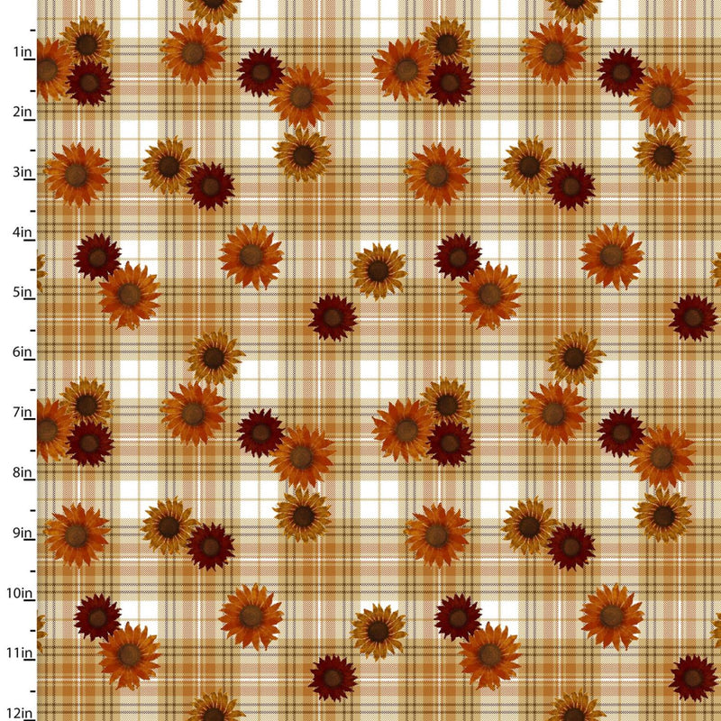 Harvest Campers - Plaid Flowers