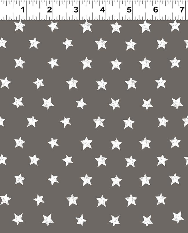 Home of the Free Stars Dark Pewter