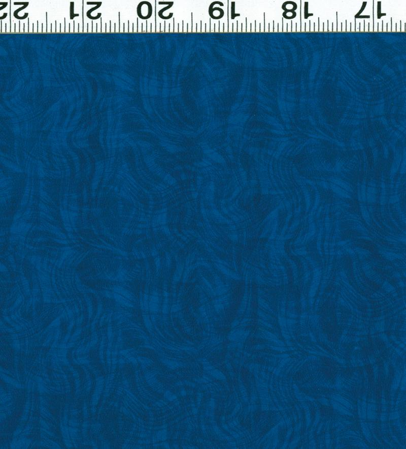 Impressions Moire - Royal Blue